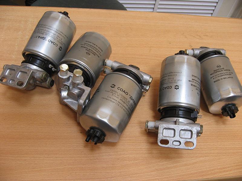 Фильтры тонкой очистки топлива